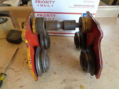 Manual C&M 7927 Chain Hoist I-Beam Mount Trolley  1000 lbs.1/2 Ton Capacity #7