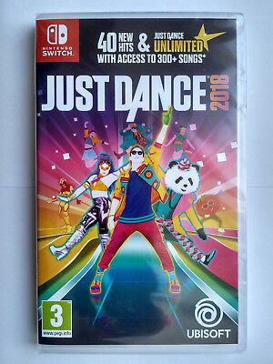 Just Dance 2018 Nintendo Switch PAL Brand New Sealed