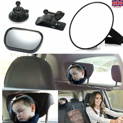 Infant Car Safety Seat Inside Mirror View Back Rear Ward Facing Care Baby Mirror