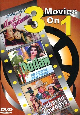 Angel and the Badman / The Outlaw / Roy Rogers King of the Cowboys NEW DVD