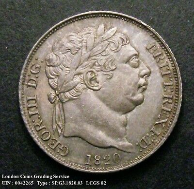 Choice UNC 1820 Sixpence.LCGS Graded and Encapsulated.LCGS82(MS64-65).