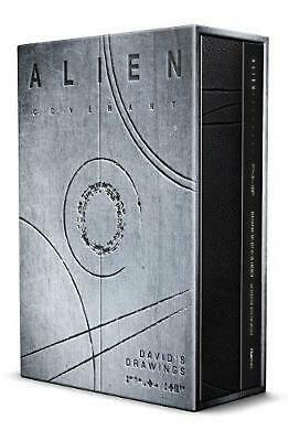 Alien Covenant: David's Drawings by Dane Hallett Hardcover Book Free Shipping!