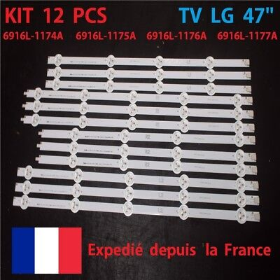 Bande Led Tv Lg 47Ln5400 47Ln575S - 6916L 1174A 1175A 1176A 117A Prix Grossiste