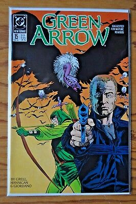 Green Arrow, Issue #15, February, 1989.
