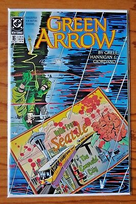 Green Arrow, Issue #16, March, 1989.
