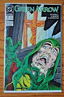 Green Arrow, Issue #17, April, 1989.