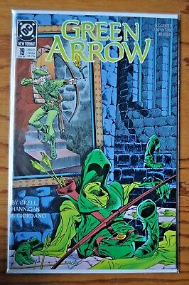 Green Arrow, Issue #19, June, 1989.