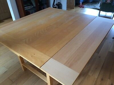 Habitat Rectangle To Square Extending Dining Table