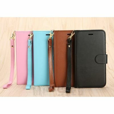 Magnetic Leather Flip Wallet Protective Case Cover For Apple iPhone6 6S 7 8 Plus