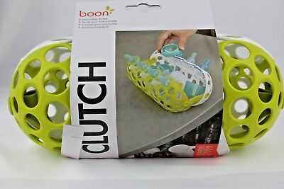 Boon Clutch Dishwasher Basket for small bottles & parts Green/White New Other
