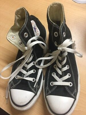 a716b8c18b9c34 Men s Women s CONVERSE M9160 Black Chuck Taylor ALL STAR HI Athletic Shoes  ...