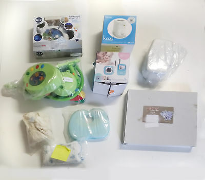 Used Lot of Baby products � Video Monitoring � Wall Clock & More
