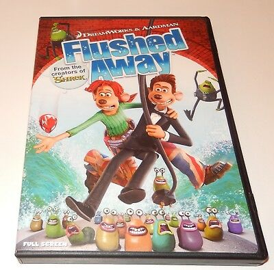 FLUSHED AWAY DVD=ANIMATED=REGION 4 Australian Release=New ...