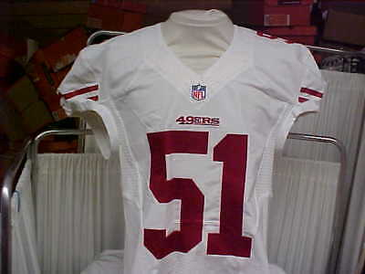 2015 NFL San Francisco 49ers Game Worn Team Issued Jersey Player  51 Size 44 7b8d64b5b
