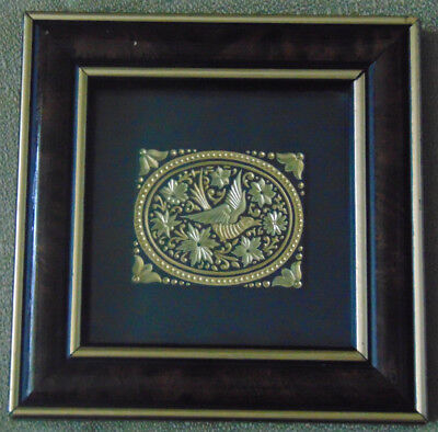[ART] Damasquinado de Oro 18 and 24 Karat Gold Wall Hanging Picture Ornament