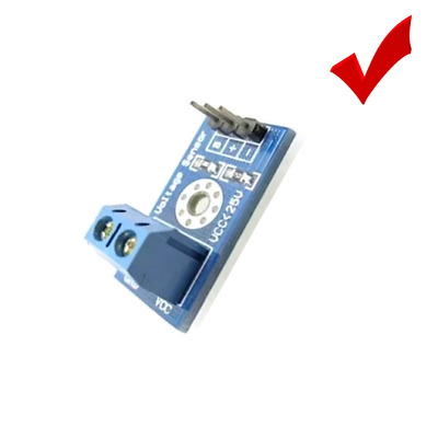 0-25V Standard Voltage Sensor Module For Arduino Battery IIC LCD1602 LCD Display