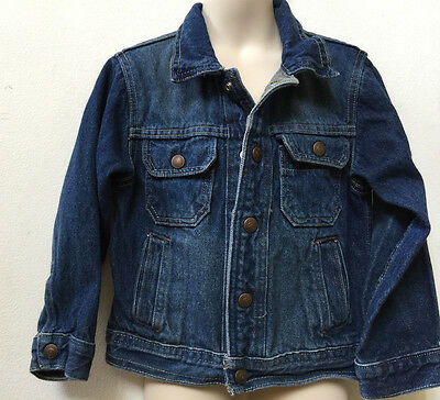 946f94e4d Gap Kids Toddler Boy Everyday Denim Fall Winter Blue Jacket Size XS 4-5