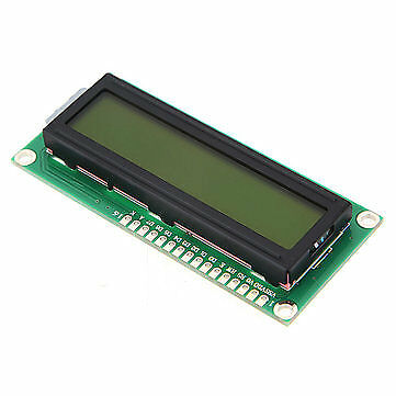 1Pc 1602 Character LCD Display Module Yellow Backlight For Arduino