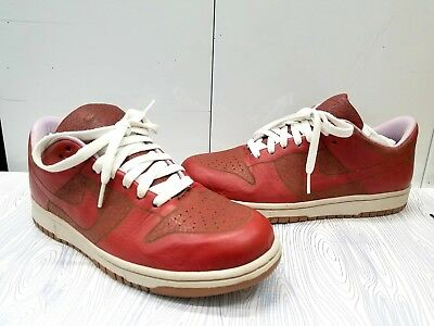 super popular 53c05 7c45c Nike Sb Dunk Low 1 Piece Mens Size 8 Var Redvar Red-Titan