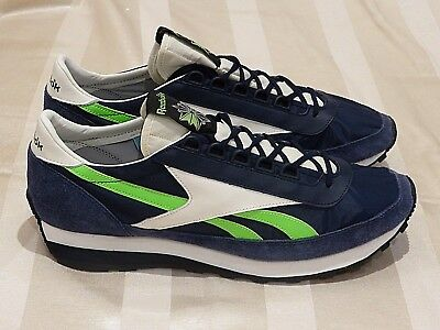 3e00dab65fe REEBOK Aztec OG Suede  Collegiate Navy White  Limited (12US) pump ultra air