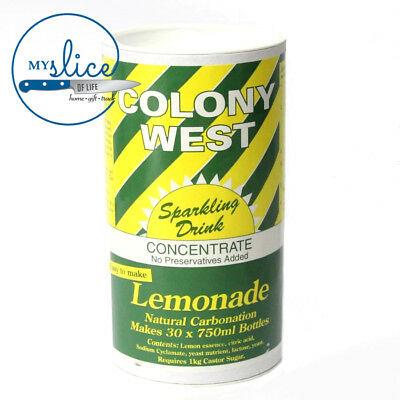 Colony West Sparkling Lemonade - Alcoholic or Non Alcoholic