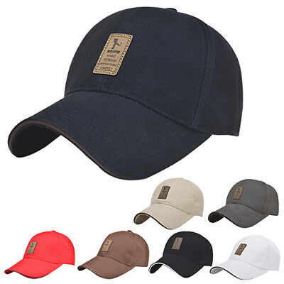 KD_ Men's Polo Baseball Cap Outdoor Golf Caps Cotton Adjustable Sports Hat Del