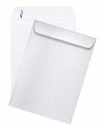 Econo Peel to Seal Catalog Envelopes 28lb White Wove 6-x-9-500-pk - Shipping env
