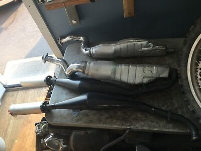 YAMAHA RD500LC RZ500 1GE 47X-1 thru 4 Complete Exhaust System 1984-85 oem