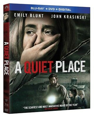 A Quiet Place  (Blu-ray +DVD + Digital HD; 2018) NEW with Slipcover