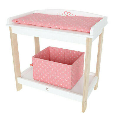 Hape Amazing Baby Changing Table Super Fun Kids Toy **new**