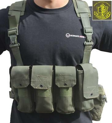 Ultimate Arms Gear Surplus Tzahal Zahal IDF Military OD Olive Drab Green Canvas