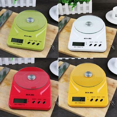 7KG Digital Electronic Kitchen Postal Scales Postage Parcel Weighing Weight New