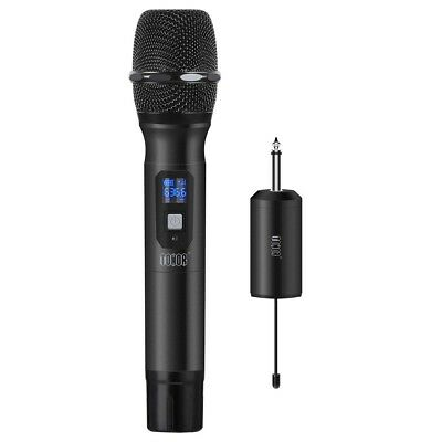"""Tonor Wireless Handheld Microphone 25 Channel UHF w/ Mini Portable Receiver 1/4"""""""