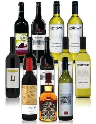 Winter Clearance Red & White Mixed Wines with free Chivas Regal Free Shipping RR