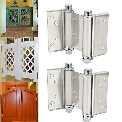 3 inch Double Action Spring Hinges Stainless steel for Saloon Cafe Swing Doors
