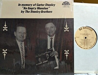 BLUEGRASS COUNTRY LP: STANLEY BROS An Empty Mansion/Tribute to Carter Stanley