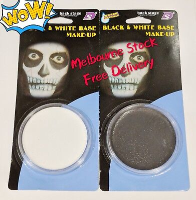 Halloween Make Up Face Paint Multi Pallet Kit Skeleton Skull Fancy Dress Party