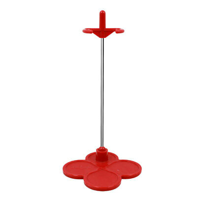 Deep Red Plastic Display Stand Holder Fit for 12 inch Takara Neo Blythe Doll