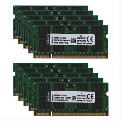 Lot for Kingston 2GB PC2 5300S 2RX8 DDR2 667MHz Laptop Memory RAM SO-DIMM #6S9