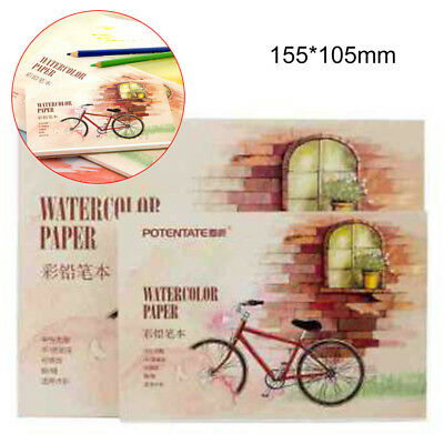 12 Sheets Watercolor Paper Sketch Book Set for Watercolor Drawing Sketchbook