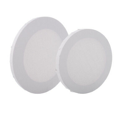 3x ARTIST BLANK CIRCULAR STRETCHED CANVAS FOR PAINTING CRAFTS SUPPLIES 20CM