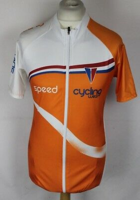 Crivit Sports Mens Cycling Jersey Size Large Full Zipper Speed Cycling Wear 7bc8fa6d5