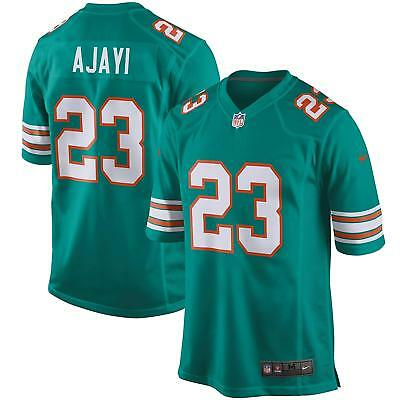 7943aea79 MENS LARGE Nike MIAMI DOLPHINS Game Jersey JAY AJAYI NFL Shirt Alternate  Home 7