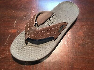 5f185f934cfa Mens Rainbow Sandals East Cape Molded Rubber Amputee Left Shoe Only sz 10