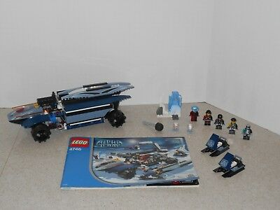 Lego Agents 8635 Mobile Command Center 100 Complete Instructions