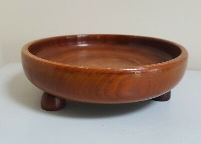 Collectable Vintage Wooden Fruit/Sweet Bowl