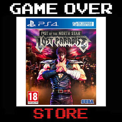 Ken Fist of the North Star Lost Paradise Kenshiro Edition Ps4 Nuovo