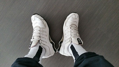 recognized brands big discount new york TOP | WEISSE gebrauchte Nike Shox, Gr. 45 | USED & SMELLY ...