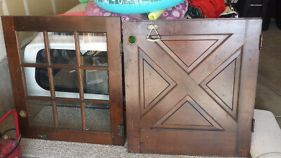 Vintage 9 Divided Dutch Cottage Door 36 X 80