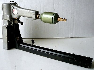 Pneumatic Carton Stapler Josef Kihlberg Industrial Air Tool Sweden Works Great!!